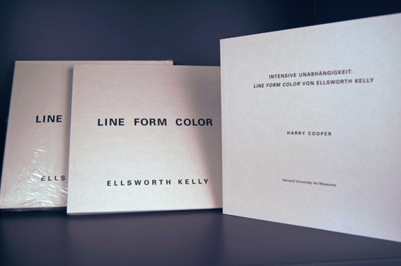 Line Color Form : Artists' book by kelly ellsworth line form color