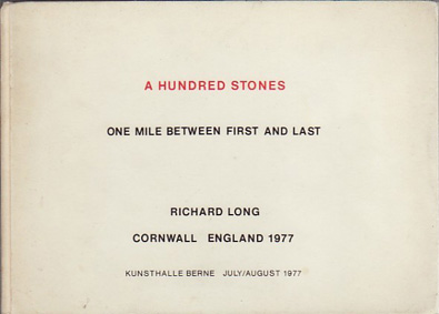 AB_Long Richard_A hundred stones