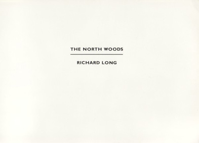 AB_Long Richard_The North woods